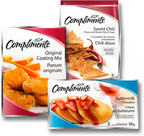 Compliments Logo Lettering | Safeway, Thrifty's | Sobeys | Hoffmann Angelic Design | brand | product line | house brand | leaf symbol | food | groceries