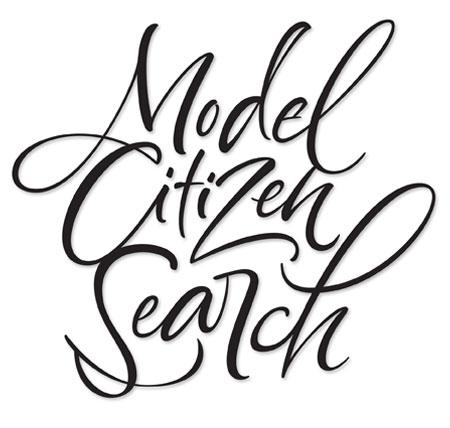 Model Citizen Search Lettering