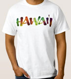 Hawaii lettering for