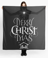 Merry Christ Mas lettering for Zazzle and Redbubble | Christmas | lettering | calligraphy | hoffmann