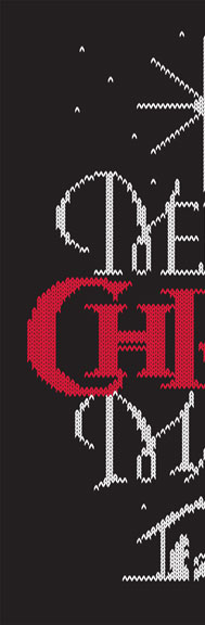 Merry Christ Mas Ugly Sweater | 26 Characters | 26_Characters | christmas | hoffmann angelic design | sweatshirt | t-shirt | pillow | christmas card | poster | motto | knit | knitted | nativity | bethlehem | jesus | black | white | red | religion | religious | christian | christianity