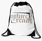 rapture ready lettering for Zazzle and Redbubble | 26 Characters | 26_Characters | lettering | goth | black letter | christian | christianity | lettering | hoffmann Angelic Design | Religion | religious | jesus | saved | apocalypse | back pack | backpack | t-shirt | tee | graphic t | scarf | pillow | card |
