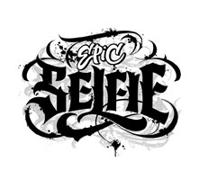 Selfie Epic lettering for Zazzle and Redbubble