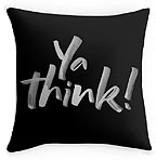 Ya Think lettering for Zazzle and Redbubble | 26_Characters | 26 Characters | Hoffmann Angelic Design | black | white | urban slang